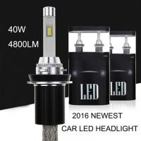 Авто Светодиодная лампа R4 цоколь H1, H3, H4, H7, H8, H9, H11, H13, H15, 9004, 9005 (HB3), 9006 (HB4), 9007, 9012, D4C (D1S, D2S, D3S, D4S), 880/881 (H27), 5202 (H16)  TX 40W Комплект 2 шт.